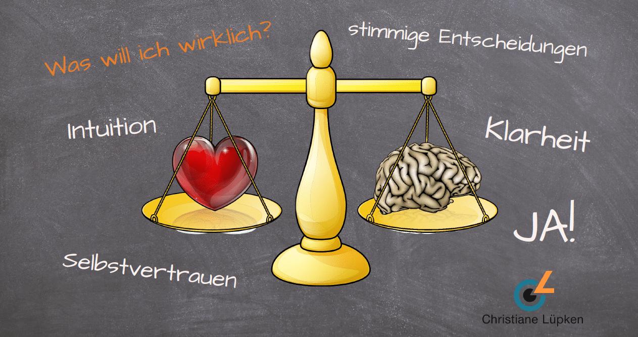 Kopf oder Herz