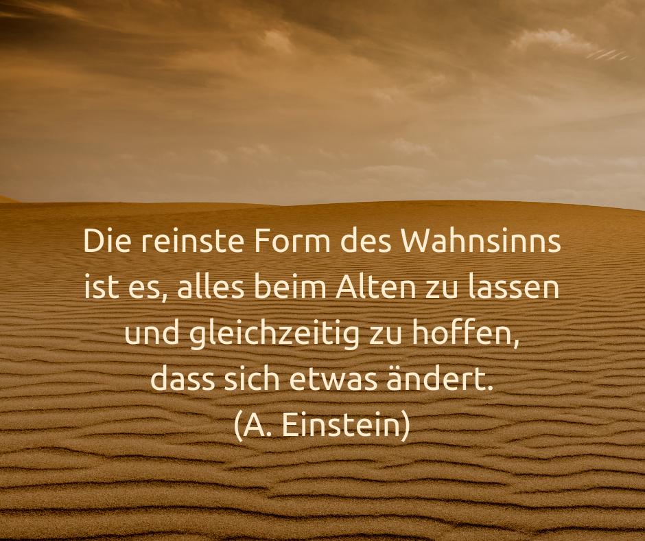 Einstein Wahnsinn