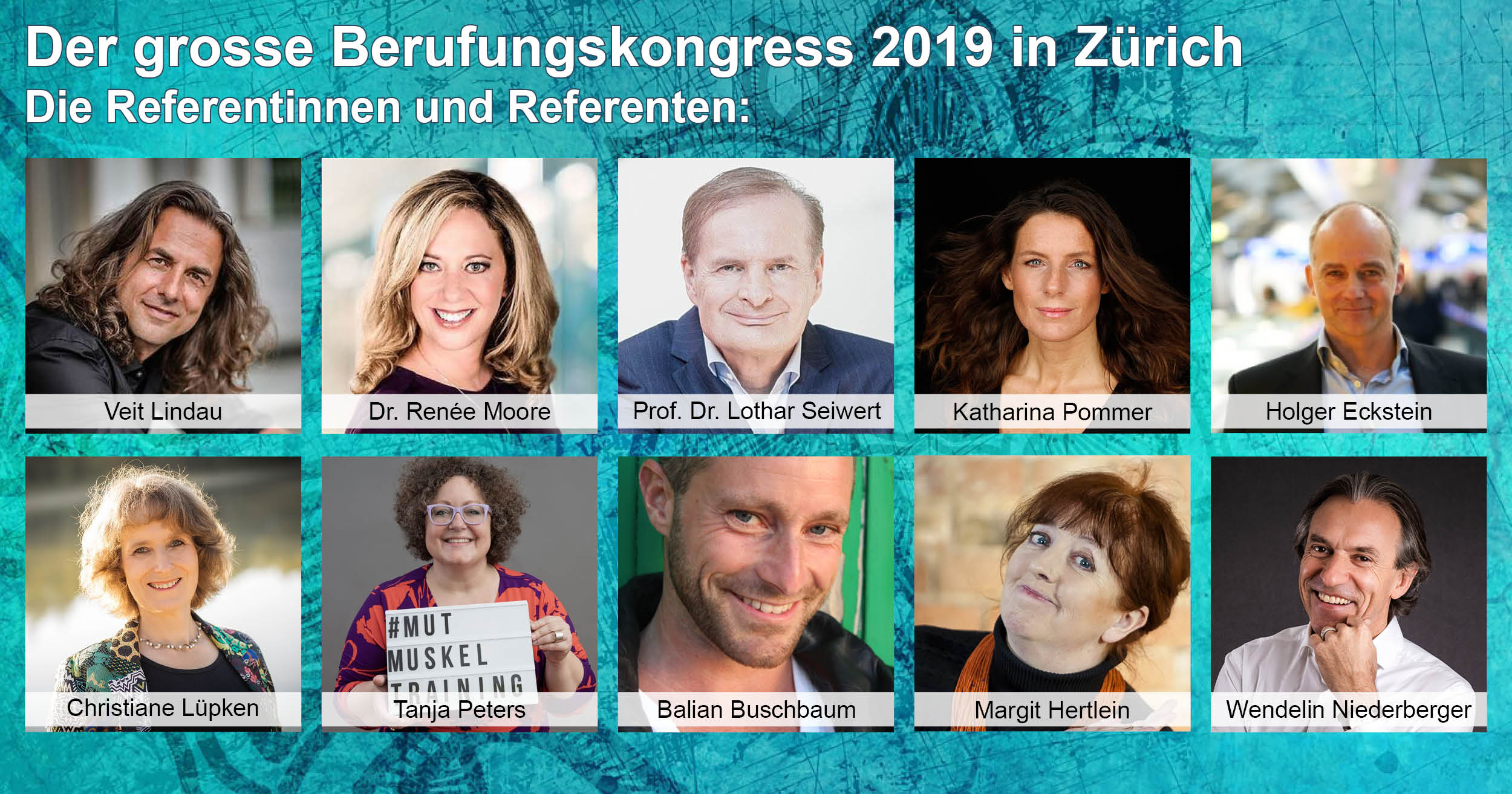 Banner Berufungskongress 2018 Christiane
